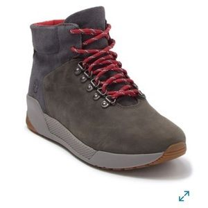 Timberland Waterproof Suede Hiking Boot gray NWT